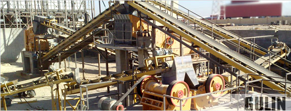 Limestone and Granite Crush Plant in Iran