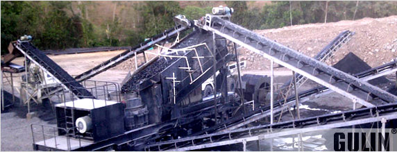 Pebble and Basalt Production Line in Panama